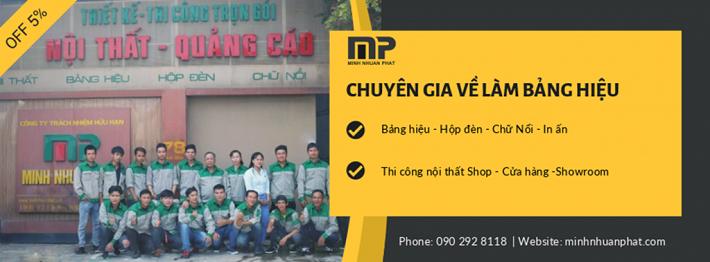 Công ty quảng cáo - Công Ty TNHH Minh Nhuận Phát