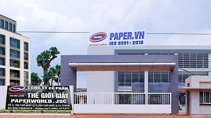 Công ty sản xuất giấy vệ sinh - Công Ty Thế Giới Giấy