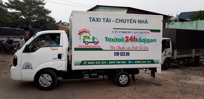 Dịch vụ chuyển nhà Quận 12 - Taxi Tải 24h Sài Gòn