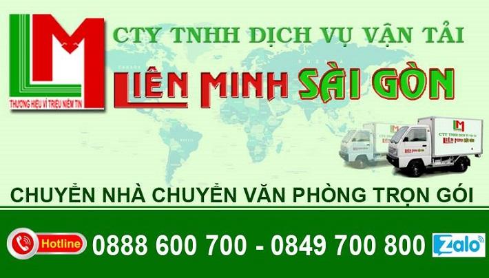Dịch vụ chuyển nhà Quận 3 - Công Ty TNHH Dịch vụ Vận Tải Liên Minh Sài Gòn