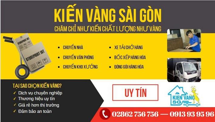 Dịch vụ chuyển nhà Quận 4 - Kiến Vàng HCM