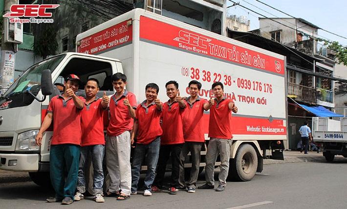 Dịch vụ chuyển nhà Quận 7 - Saigon Express