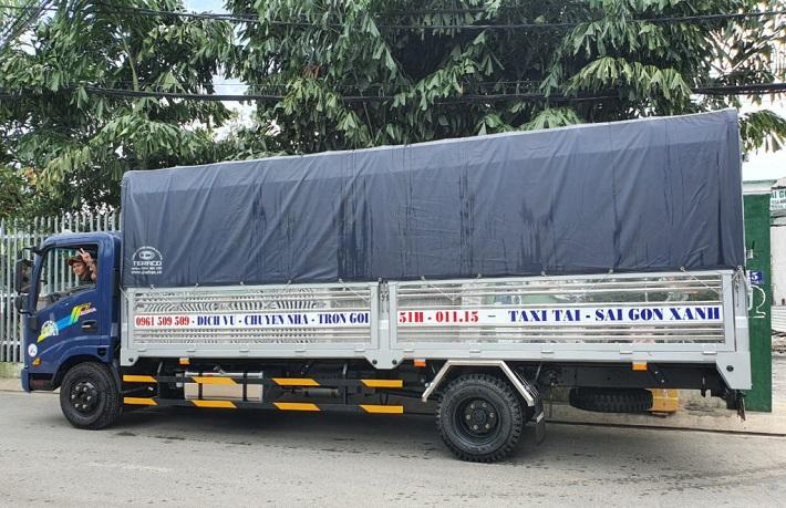 Dịch vụ chuyển nhà Quận 7 - Dịch vụ chuyển nhà trọn gói Sài Gòn Xanh