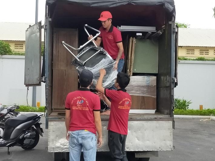 Dịch vụ chuyển nhà Bình Chánh - Công Ty TNHH TM-DV Vận Tải Hòa Phát