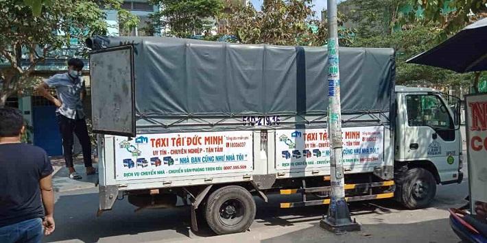 Dịch vụ chuyển nhà Bình Tân - Taxi Tải Đức Minh