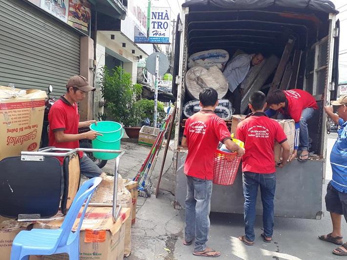 Dịch vụ chuyển nhà Bình Thạnh - Saigon Moving