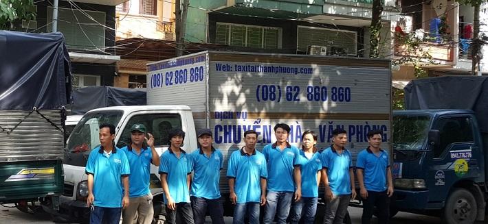 Dịch vụ chuyển nhà Bình Thạnh - Công Ty Dịch Vụ Vận Tải Thành Phương
