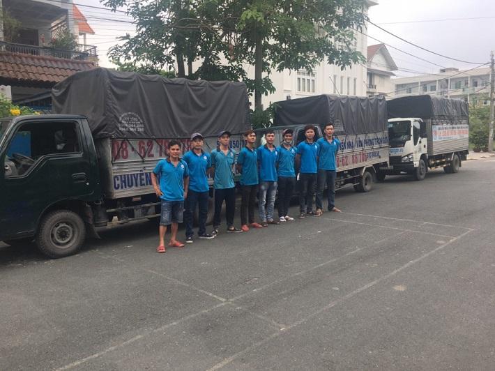 Dịch vụ chuyển nhà Bình Thạnh - Công Ty chuyển nhà Tiến Đạt