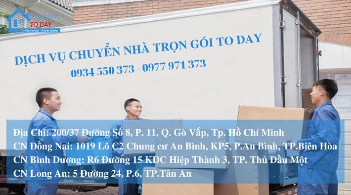Dịch vụ chuyển nhà Gò Vấp - Dịch vụ chuyển nhà trọn gói TODAY