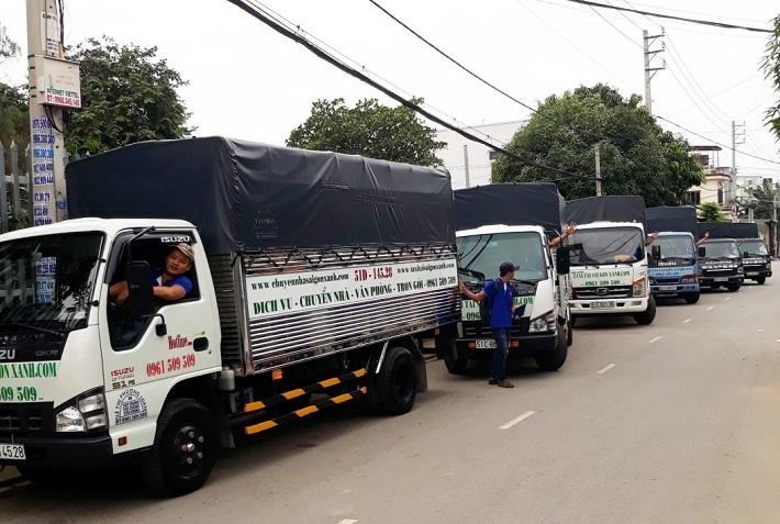 Dịch vụ chuyển nhà Tân Bình - Công Ty TNHH Taxi Tải Sài Gòn Xanh