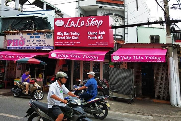 Tranh treo phòng khách - Lala Shop   Nguồn từ trang lala.com.vn
