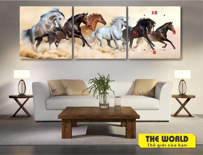 Xưởng sản xuất tranh treo tường của The World   Nguồn từ trang web theworld.com.vn