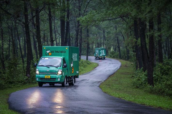 Vận chuyển hàng hóa bằng xe tải - Công Ty Giao Hàng Tiết Kiệm (GHTK)