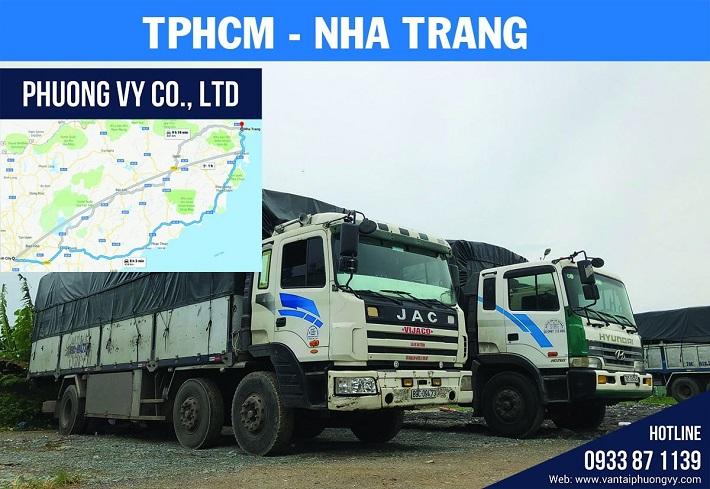 Vận chuyển hàng hóa bằng xe tải - Công Ty TNHH Dịch Vụ Vận Tải Phương Vy