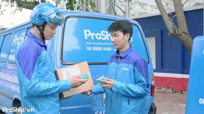 Vận chuyển hàng hóa bằng xe tải - Công Ty ProShip Logistics