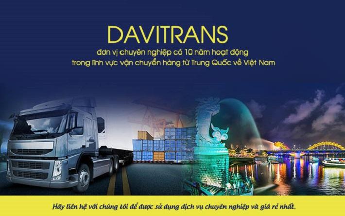 Vận chuyển hàng Trung Quốc - Davitrans