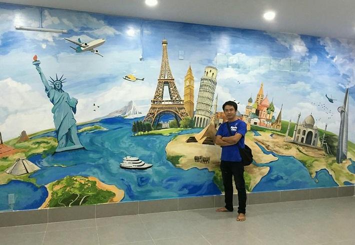 Vẽ tranh tường tại TPHCM - BAYKING