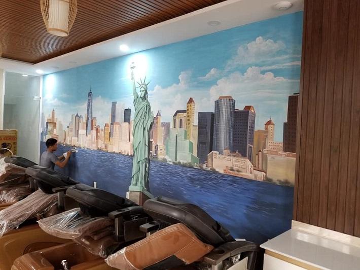 Vẽ tranh tường tại TPHCM - Mỹ thuật Chu Gia