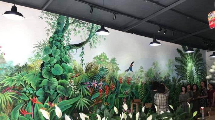 Vẽ tranh tường tại TPHCM - Sun Lee