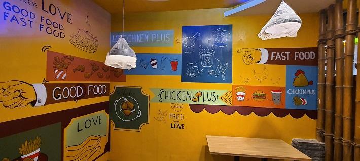 Vẽ tranh tường tại TPHCM - Tranh tường đẹp