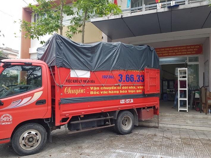 Xe tải chuyển nhà Đà Nẵng - Taxi Tải Nhân Hòa   Nguồn từ trang web xetainhanhoa.com