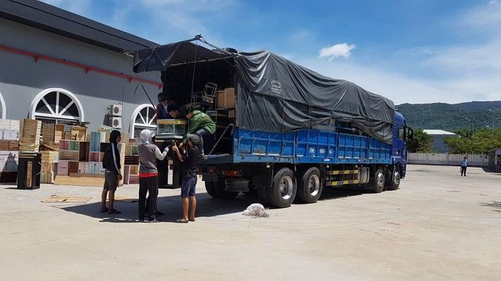 Xe tải chuyển nhà Đà Nẵng - Dịch vụ vận tải Thắng Tới   Nguồn từ trang web taxitaidanang.com