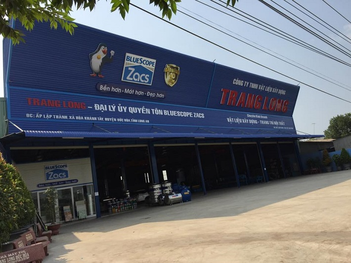 Cửa hàng vật liệu xây dựng - Cửa hàng vật liệu xây dựng Trang Long