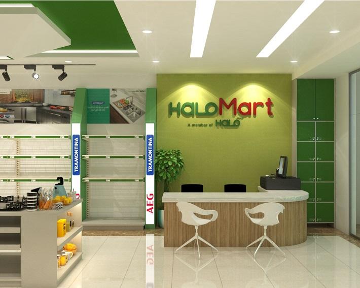 Công Ty Halo Group   Nguồn từ trang web halo-mart.com