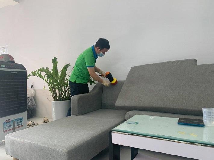 Dịch vụ giặt sofa tại nhà Quận 1 - GFC CLEAN | Nguồn từ trang gfcclean.vn