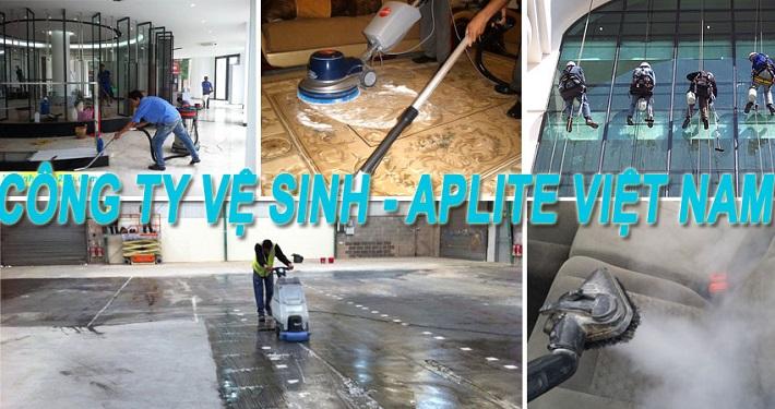 Dịch vụ vệ sinh công nghiệp - Trung tâm Vệ sinh Aplite Việt Nam | Nguồn từ trang web vesinhnhao24h.com