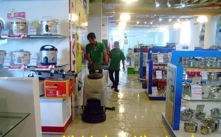 Dịch vụ vệ sinh công nghiệp - GFC CLEAN | Nguồn từ trang web gfcclean.vn