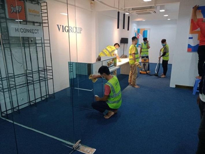 Công Ty TNHH TM-DV Vệ sinh công nghiệp VSN | Nguồn từ trang web vesinhnhanh.vn