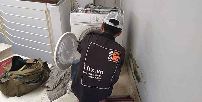 Dịch vụ Vệ sinh máy giặt - Vệ sinh máy giặt 1Fix | Nguồn từ trang web 1fix.vn