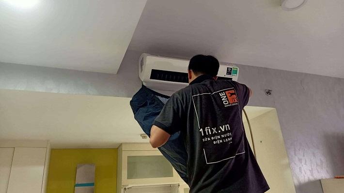 Dịch vụ vệ sinh máy lạnh - Vệ sinh máy lạnh 1FIX™ | Nguồn từ trang web 1fix.vn