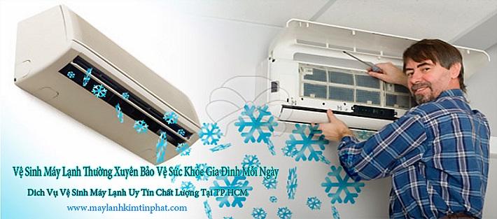 Dịch vụ vệ sinh máy lạnh - Công Ty Điện Lạnh Kim Tín Phát | Nguồn từ trang web maylanhkimtinphat.com