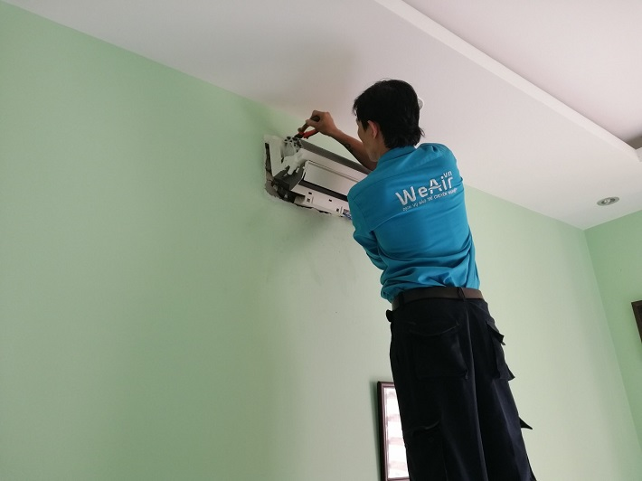 Dịch vụ vệ sinh máy lạnh - WeAir | Nguồn từ trang web weair.vn