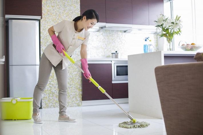 Dịch vụ dọn vệ sinh theo giờ - Vệ sinh Công Nghiệp Chamclean | Nguồn từ trang web vesinhchamclean.com