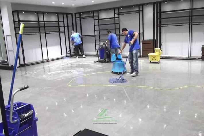 Dịch vụ vệ sinh Green House | Nguồn từ trang web vesinhgreenhouse.com