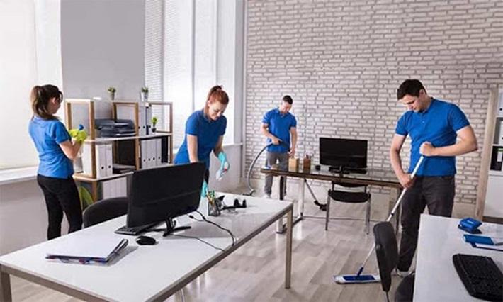 Dịch vụ vệ sinh Hoàng Gia (Hình minh họa)   Nguồn từ trang chotot.com