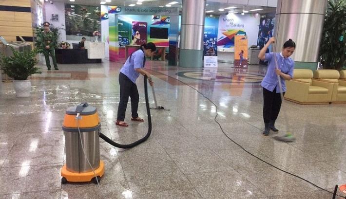 Dịch vụ vệ sinh văn phòng - Nhật An   Nguồn từ trang donvesinh.com.vn