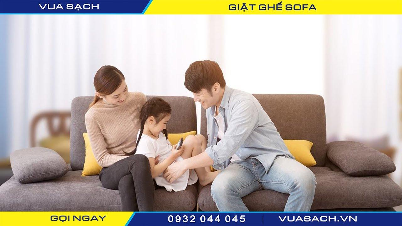 Giặt sofa tại nhà Quận 5 - Vua Sạch   Nguồn từ trang vuasach.vn
